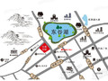 东城官邸交通图