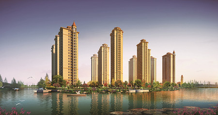上城公馆高层139平3室2卫豪华装修五小学区产头