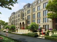 半岛康桥花园洋房3楼137平白坯227万有车位电梯