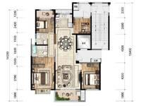 出售中梁象山中心大厦3室2厅2卫138平米160万住宅