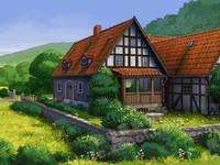 出租金圆楼小区2室1厅1卫90平米1200元/月住宅